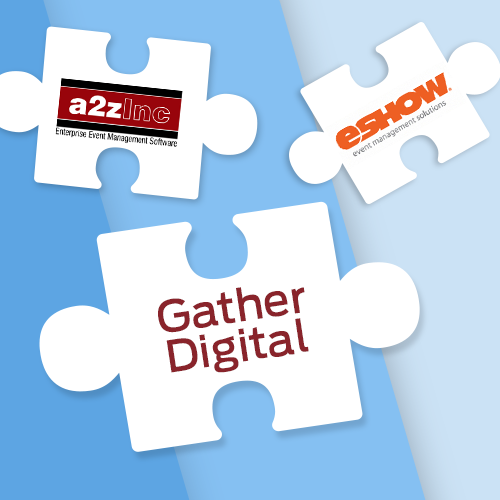 Gather Digital supports a2z and eshow integrations