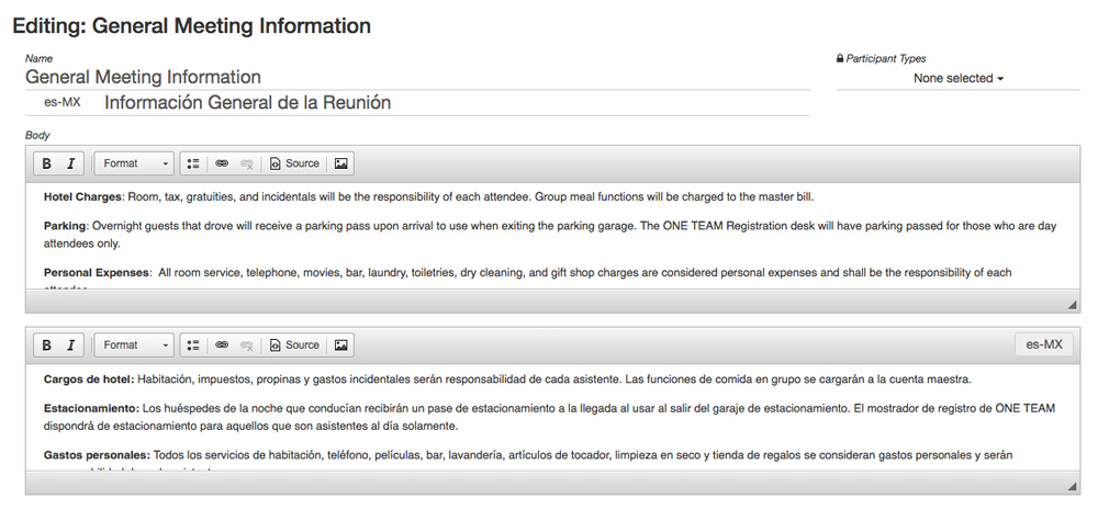 Example image of an info item translation